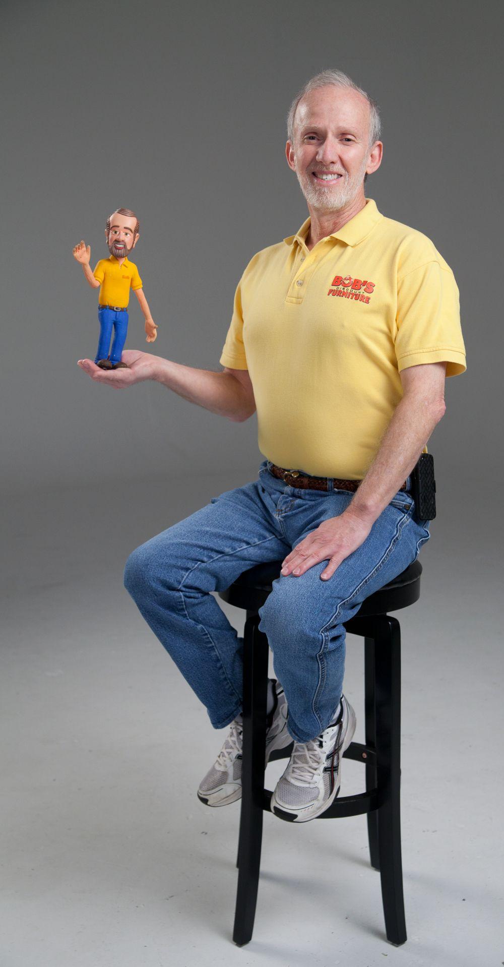 Bob And Clay Bob Really Are True Doppelgangers Tbt Bob S Discount Furniture Mattress Furniture Discount Furniture