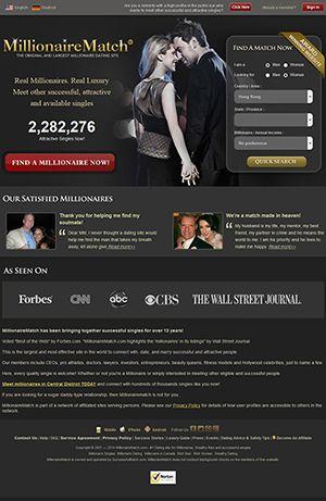 top 5 millionaire dating sites