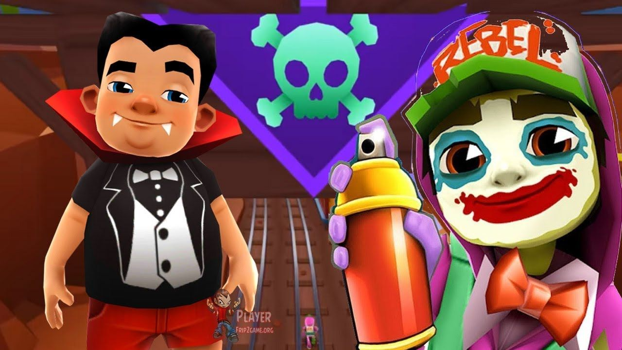 Subway Surfers Halloween 2019 Mexico King Count Outfit