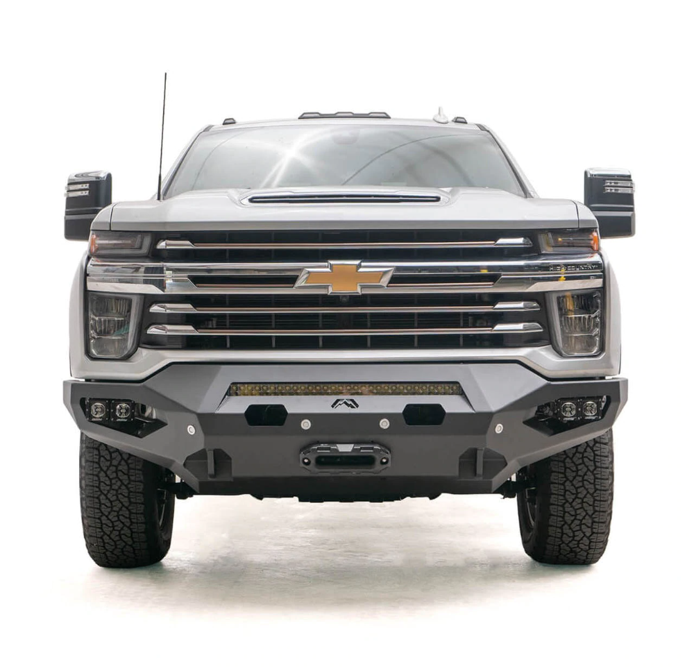 Fab Fours Matrix Front Bumper For 2020 Chevy Silverado 2500 3500 Hd In 2020 Chevy Silverado 2500 Chevy Silverado Silverado 2500