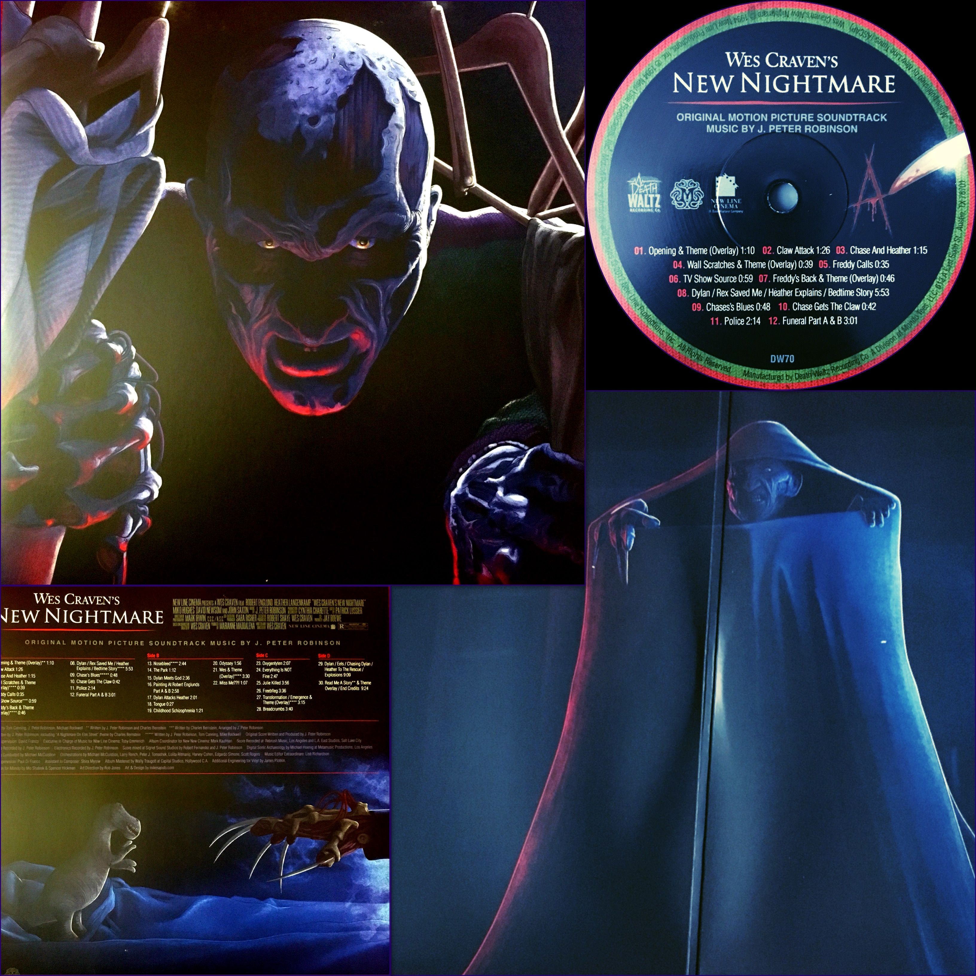 Nightmare On Elm Street New Nightmare Vinyl Box Of Souls Deathwaltz Records And Mondo Tees New Nightmare Nightmare On Elm Street Mondo Tees