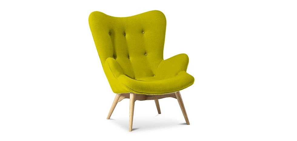 Fauteuil Contour Lounge Chair Grant Featherston Design Scandinave