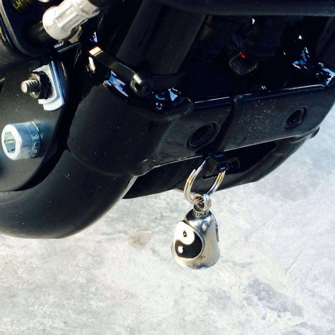 Kiss My Biker Ass Guardian Bell Motorcycle Gremlin Bell