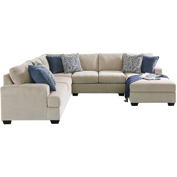 Best Enola 4 Piece Sectional Liked On Polyvore Featuring Home 400 x 300