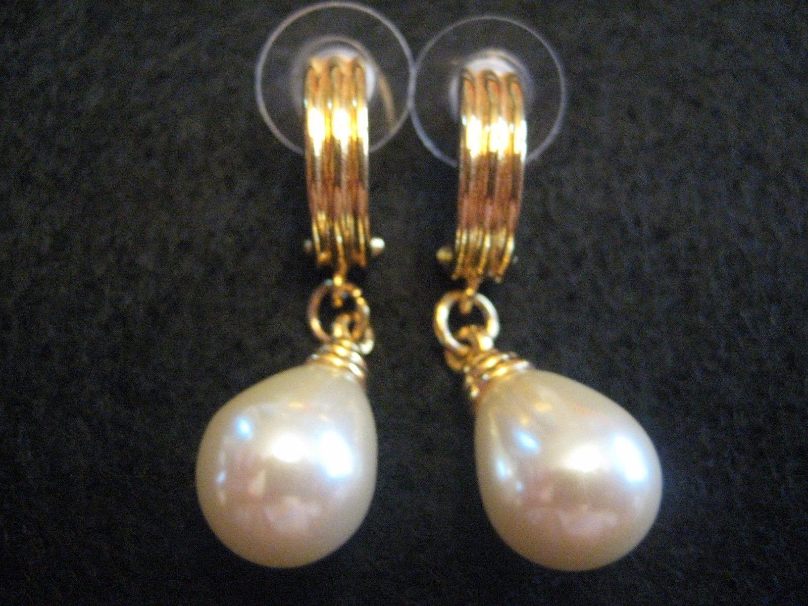 Vintage Jewelry Carolee Pearl Earrings Christmas Gifts