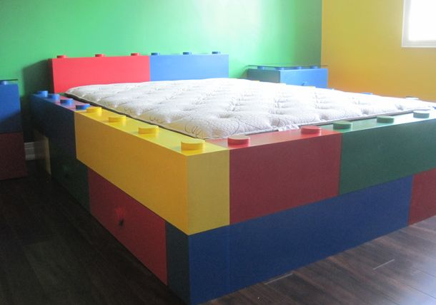 Room 2 Build Bedroom Kids Lego: Lego Room, Lego Bedroom, Kids