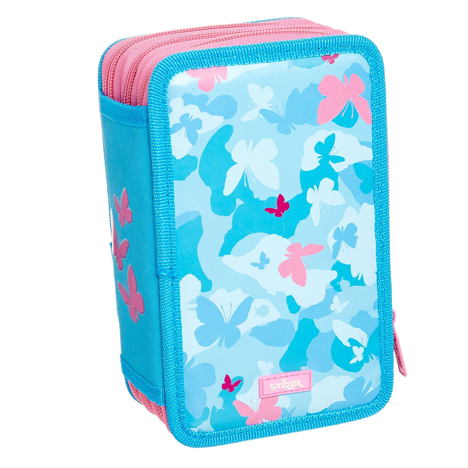 Image for Camo Triple Pencil Case Kit from Smiggle UK