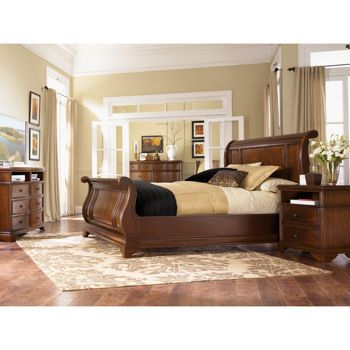 Costco Grande Sleigh 6 Piece Cal King Bedroom Set King Bedroom