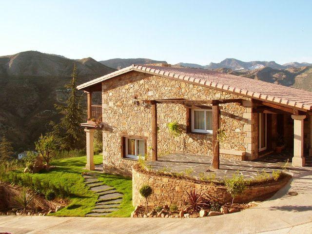 Construcciones r sticas gallegas casas p rgolas y dise os en madera pinterest casas - Rusticas gallegas ...
