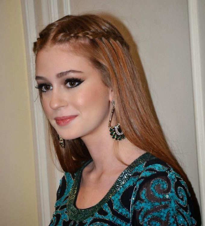 Dona de um dos cabelos mais lindos da televisão, Marina Ruy Barbosa inspira não só com seus looks sempre lindos como também com seus pentea...
