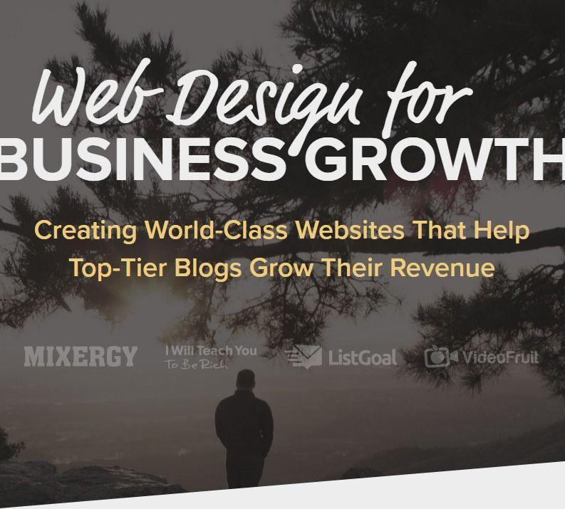 Web Designer For Joseph Michael S Easy Course Creation Landing Page Jascha Brinkmann Web Design Business Growth Landing Page