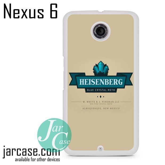 Heisenberg Phone case for Nexus 4/5/6