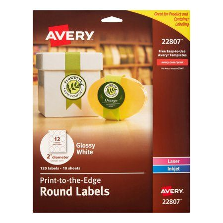 Option for Avery #22807 labels, 2s, Week 2 | January 2019