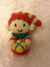 15 cms Christmas toy KNITTING PATTERN Snowman Robin Chocolate orange cover