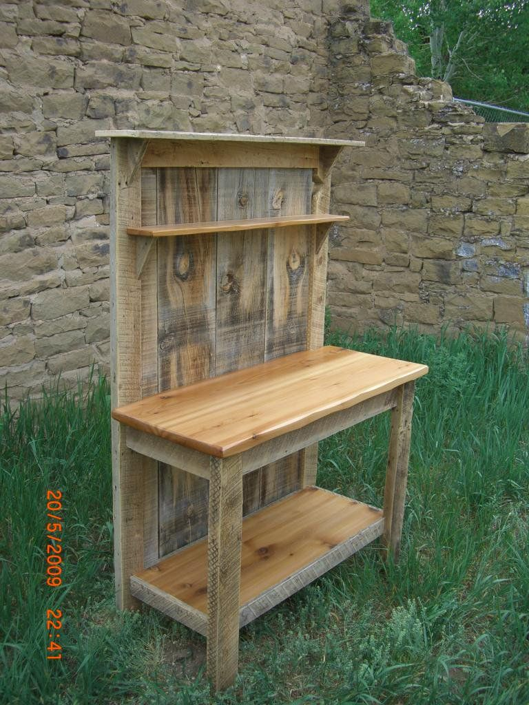 Barnwood Cedar Potting Bench My Woodworking Shed In 2020