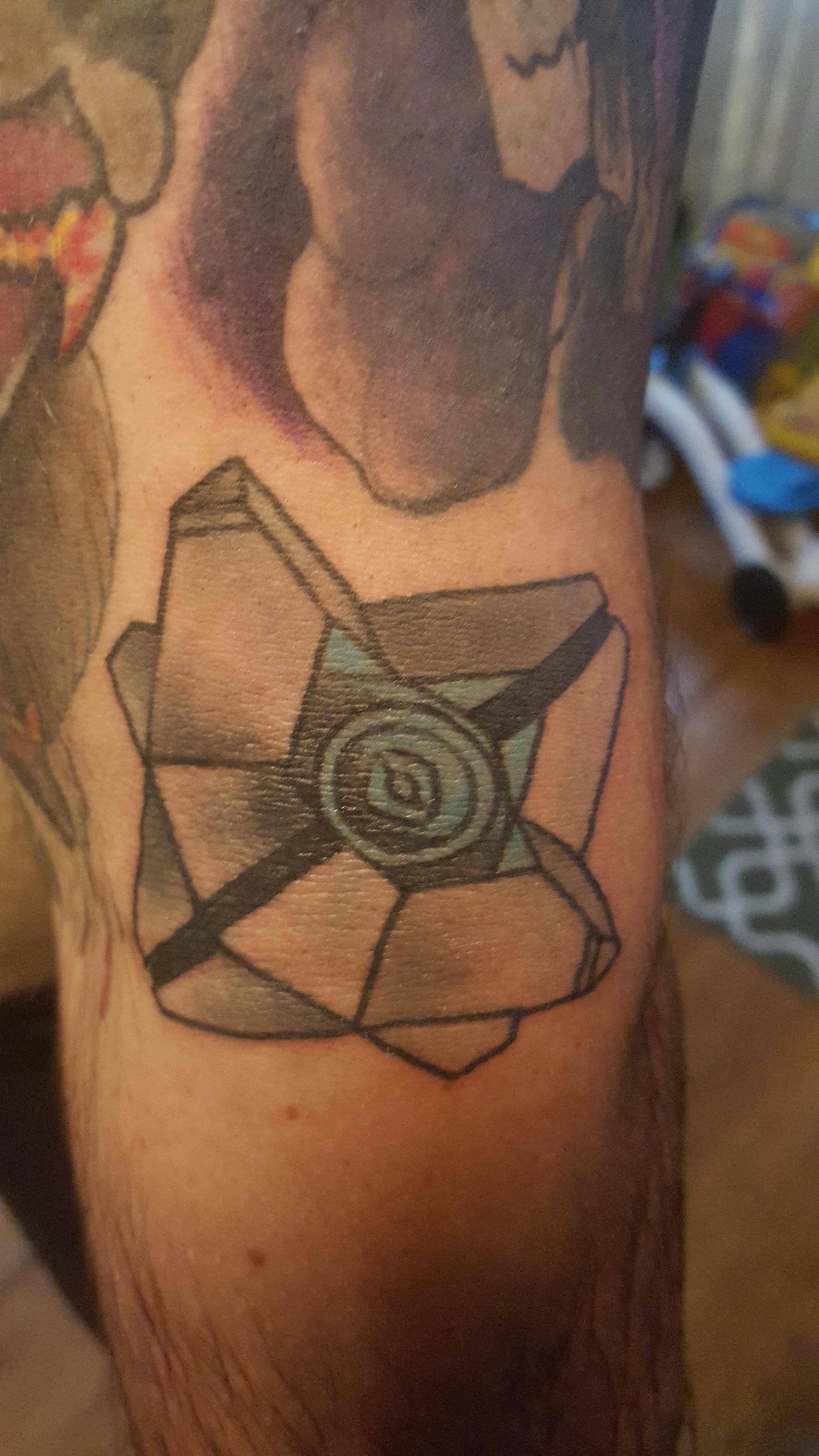 Ghost Destiny Erin Hosfield Kyklops Tattoo Pittsburgh Destiny