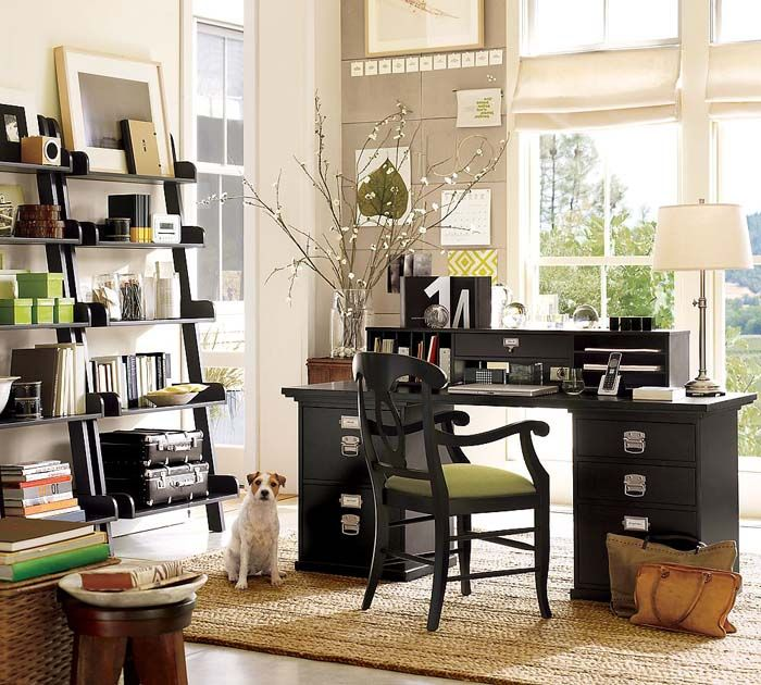pottery barn home office. Home Office Desk - Bedford Rectangular Set (Pottery Barn) Pottery Barn H