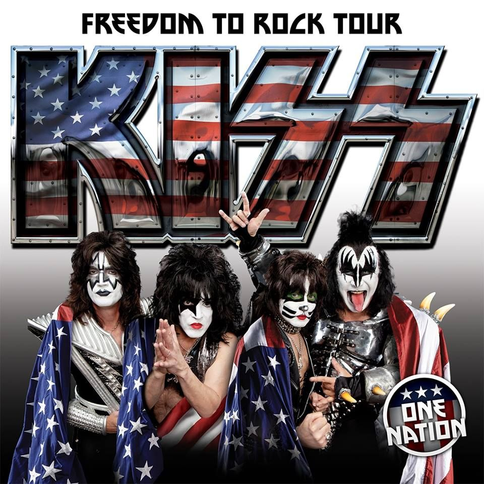 kiss announces the freedom to rock tour dates 2016 tickets on