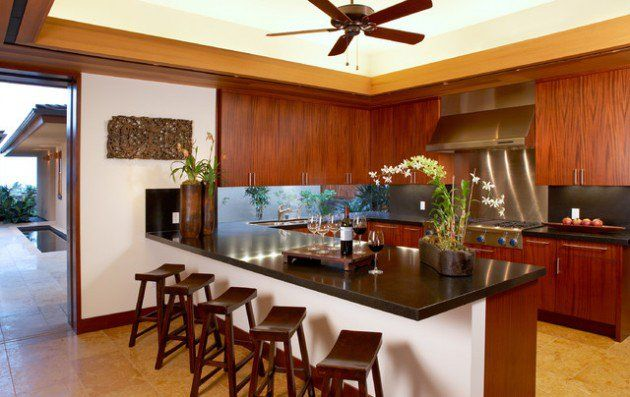 Charmant 22 Lovely Tropical Kitchen Design Ideas For Fresh Ambience