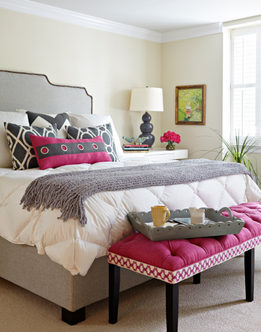 Pantone Color Of The Year Radiant Orchid Bedroom Inspirations Home Bedroom Design