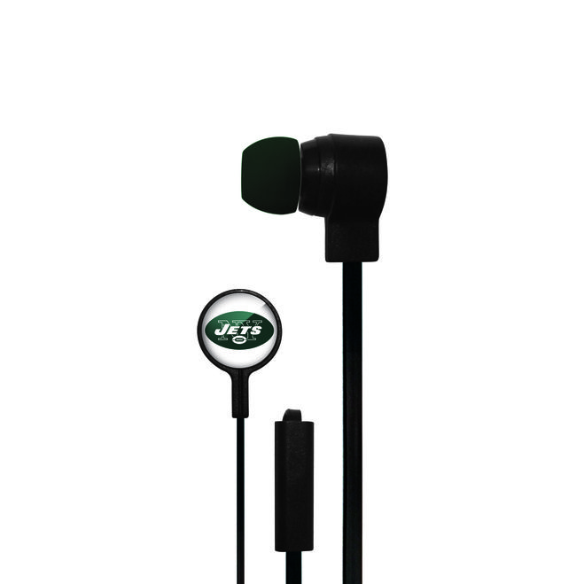 New York Jets Big Logo Ear Buds