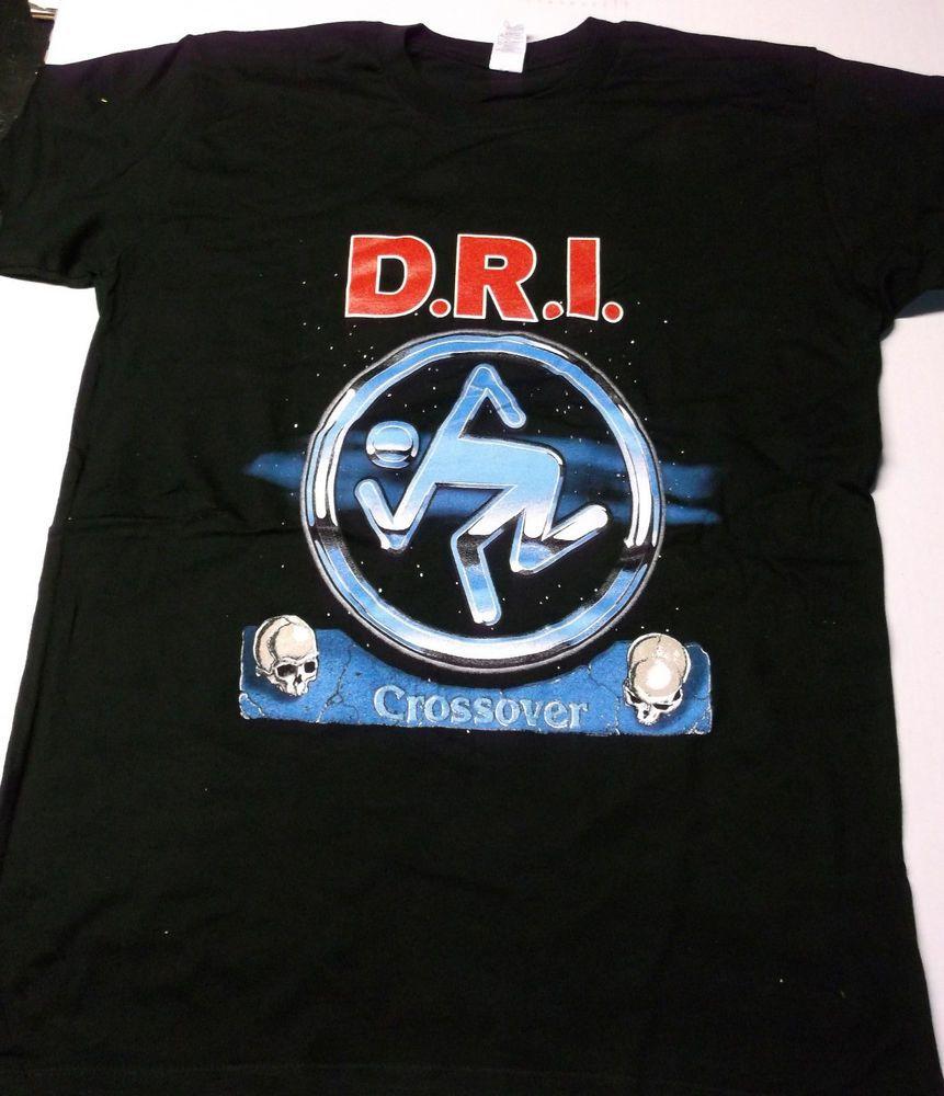 D.R.I Dirty Rotten Imbeciles Rock Band Men/'s T-Shirt Black