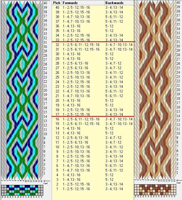 Fondo y figura ★☆ 16 tarjetas, 4 colores, repite cada 16 movimientos // sed_723 diseñado en GTT༺❁