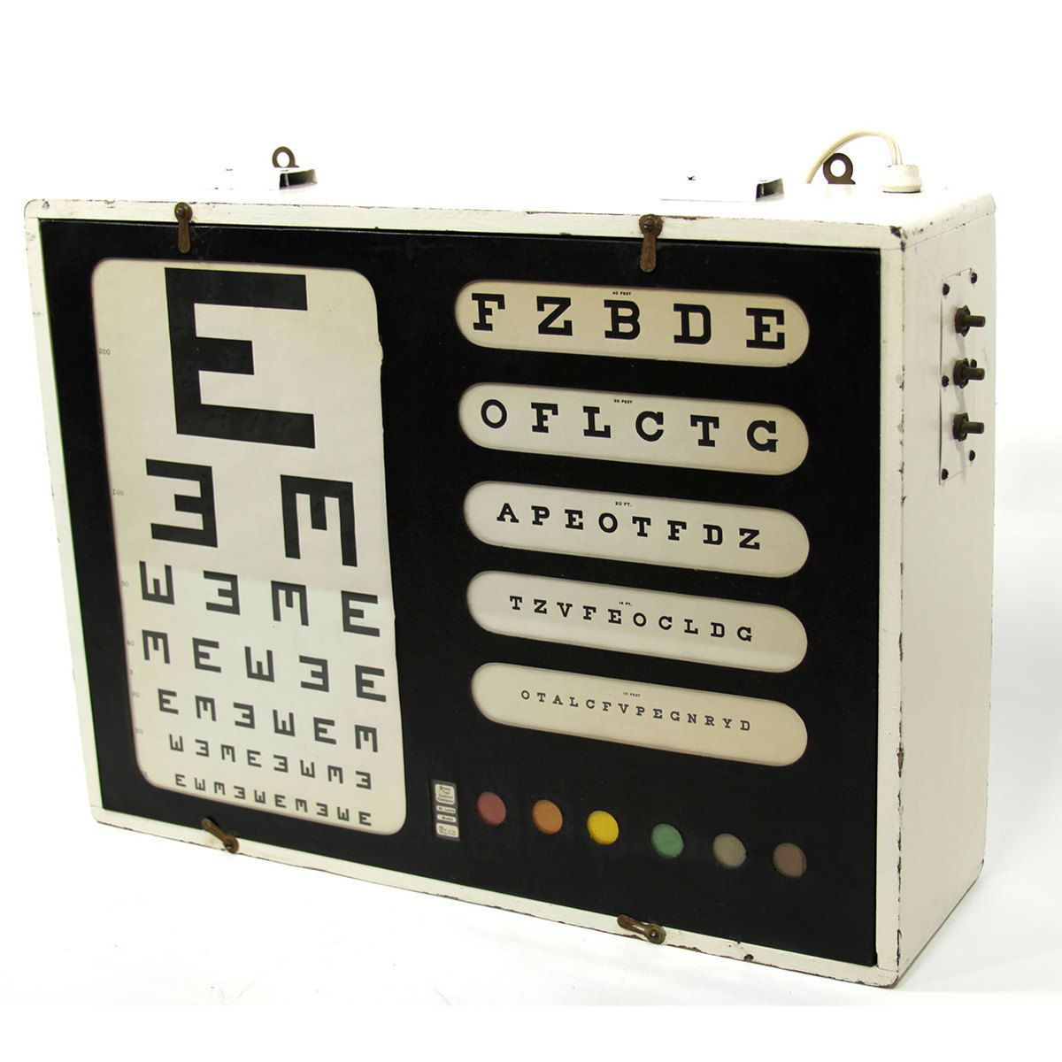 I Liked This Design On Fab Lighted Eye Chart Eye Chart Eye Chart Art Shine Your Light