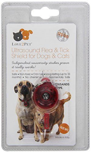 Dog Flea Collars Love2pet Ultrasonic Flea And Tick Shield Check This Awesome Product By Going To The Link At The Image Th With Images Flea And Tick Fleas Cat Fleas