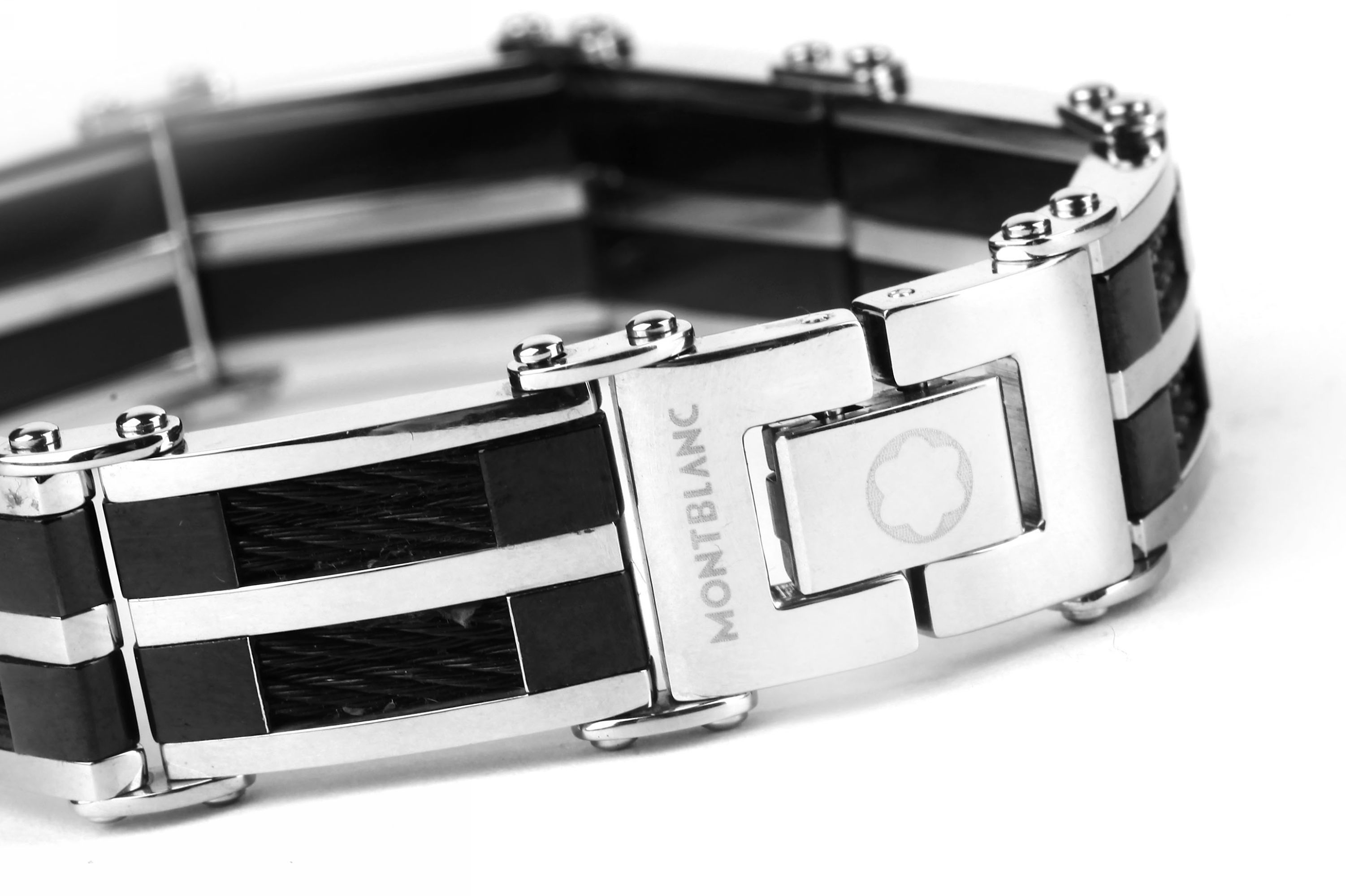 bracelet mont blanc men jewelry love mont blanc pinterest. Black Bedroom Furniture Sets. Home Design Ideas