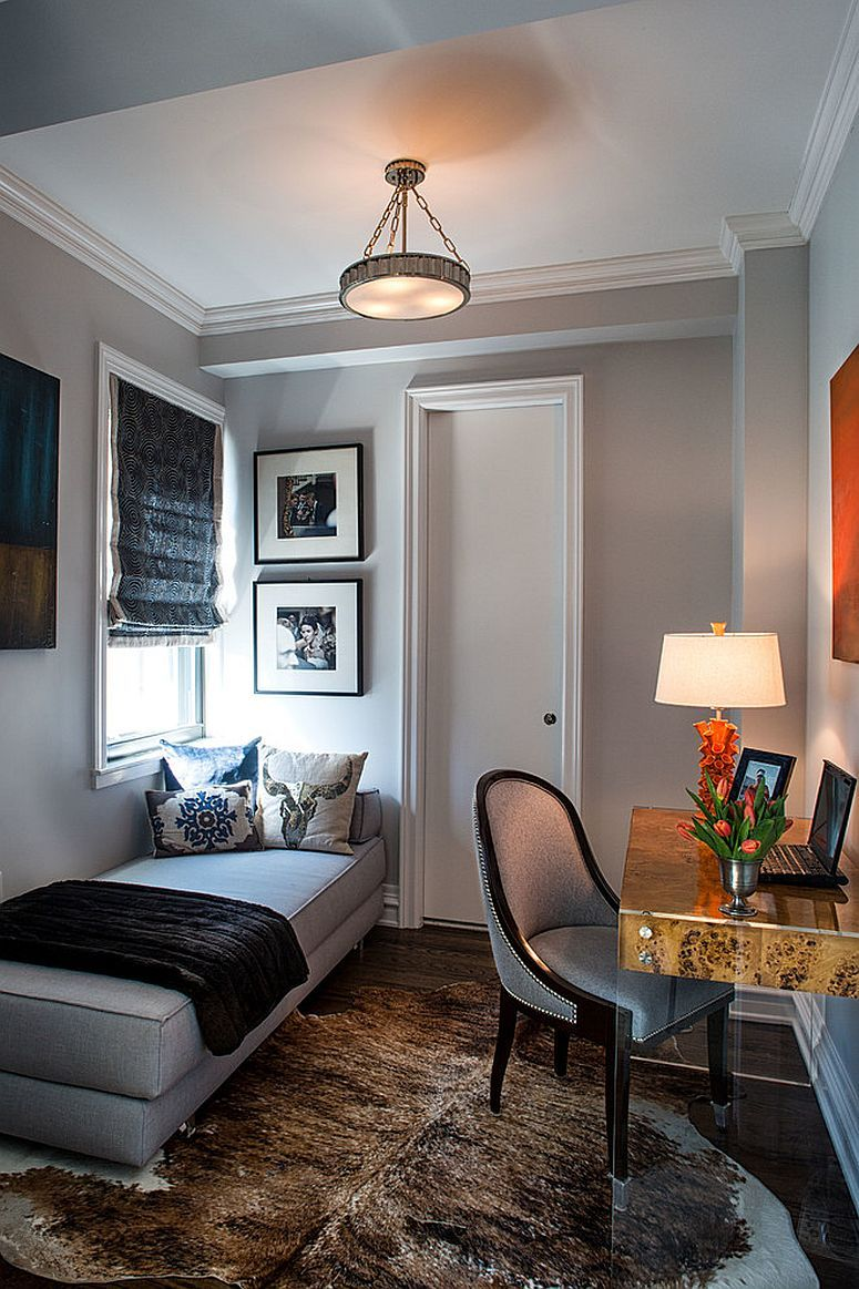 guest room home office. Cool Daybed From ABC Carpet Transforms The Home Office Into A Space-conscious Guest Room S