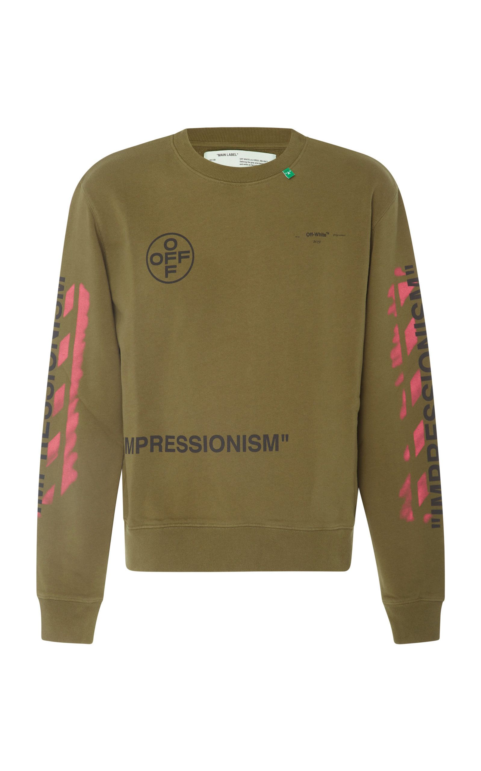1f671e26 OFF-WHITE PRINTED LONG SLEEVE T-SHIRT. #off-white #cloth | Off-White ...