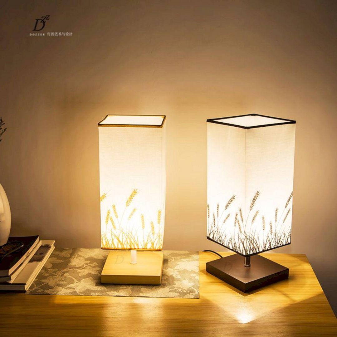 28 Best Creative Night Lamps Decoration Ideas For Beautiful Bedroom Freshouz Com Table Lamps For Bedroom Night Lamp For Bedroom Desk Lamps Living Room