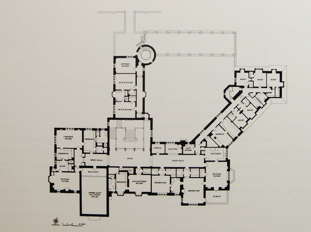Greystone mansion second floor plan home floor plans Mansion floor plans