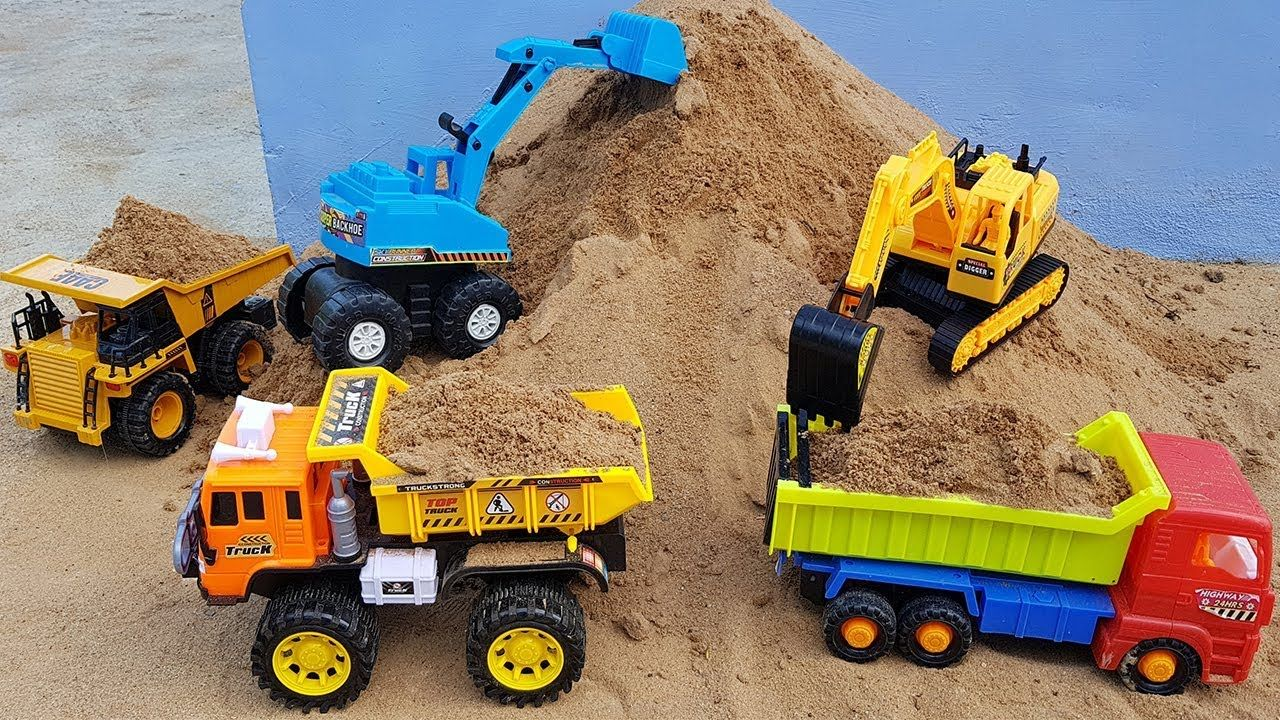 Excavator Crawler Crane Dump Truck Construction Toy Vehicles For Kids Crawler Crane Toys Construction Toy