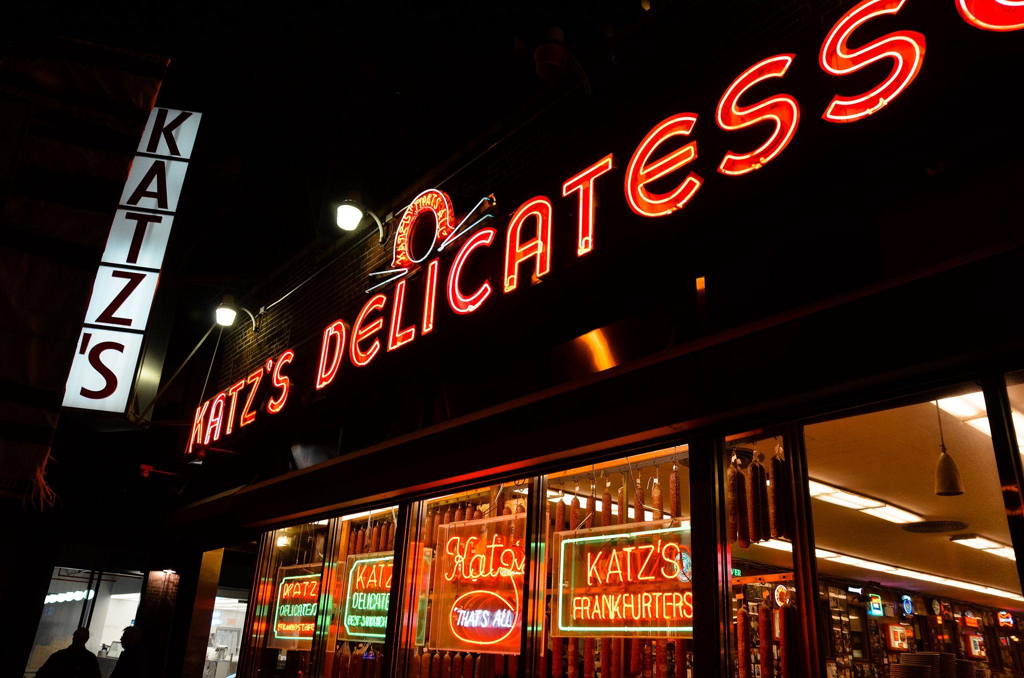 Katz' Delicatessen in New York