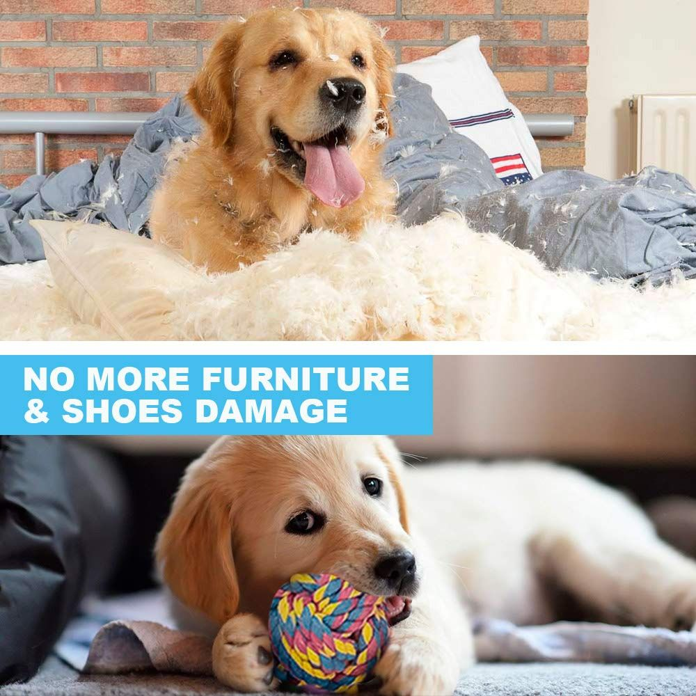Delomo Dog Rope Toys 12 Pack Dog Rope Toys Dog Chew Toys Dog