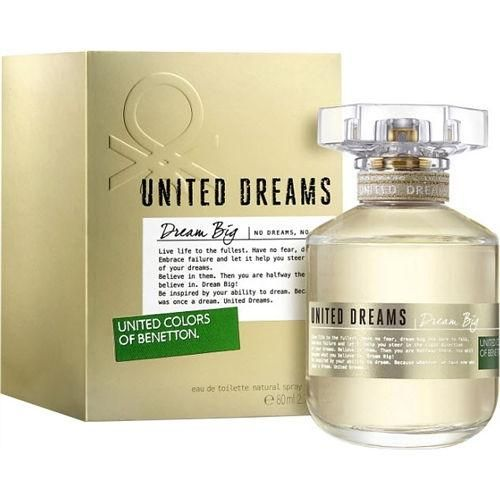 72409d46db4 United Colors of Benetton United Dreams Dream Big EDT 80ml for Women ...
