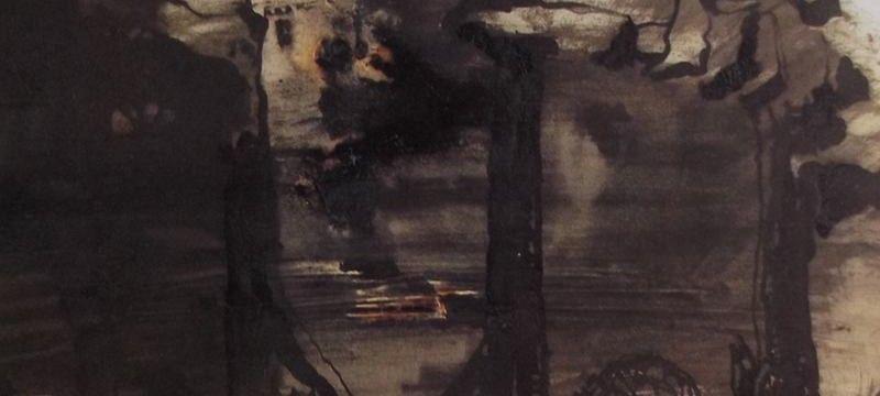Ce Détail Dun Dessin De Victor Hugo Représente Les Ruines