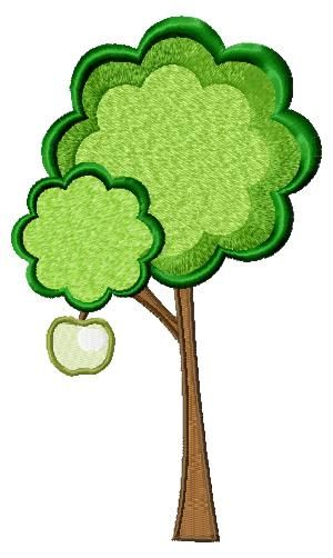This Free Embroidery Design Is A Small Tree Get It Today Free