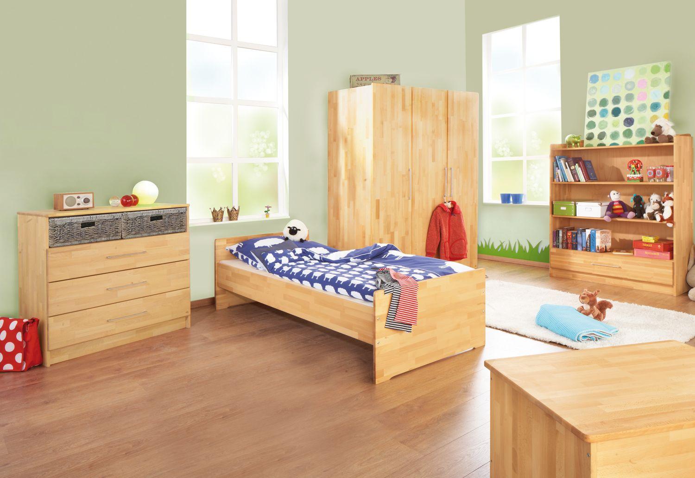 Jugendzimmer Natura Breit Gross Kinderbett Kinderzimmer Sets Kleiderschrank Wickelkommode Buche Jugendzimmer Haus Deko Wickelkommode Buche