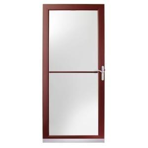 For Front Door 3000 Series 36 In Wineberry Aluminum