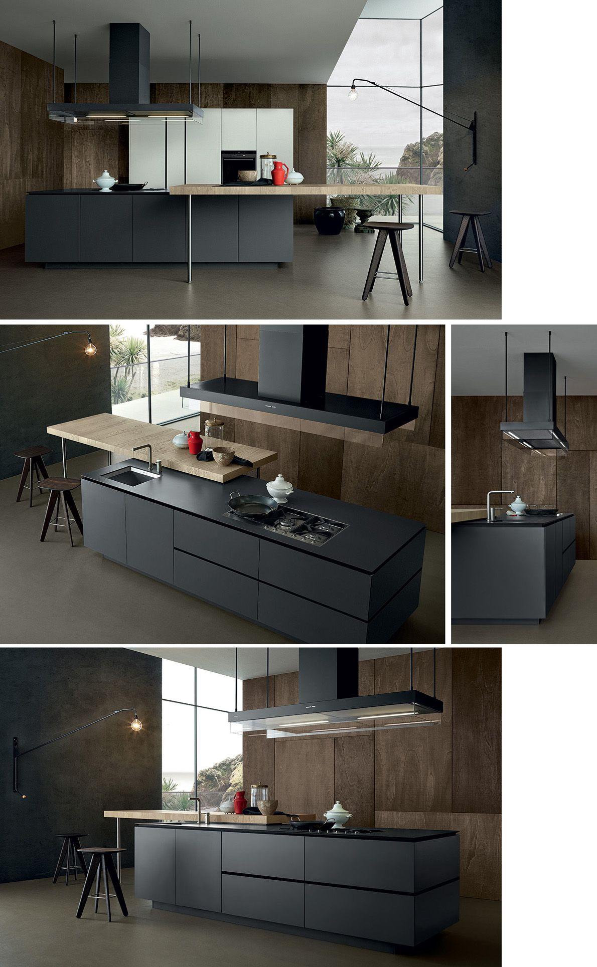 Varenna poliform on pinterest minimal kitchen kitchens for Poliform kitchen designs