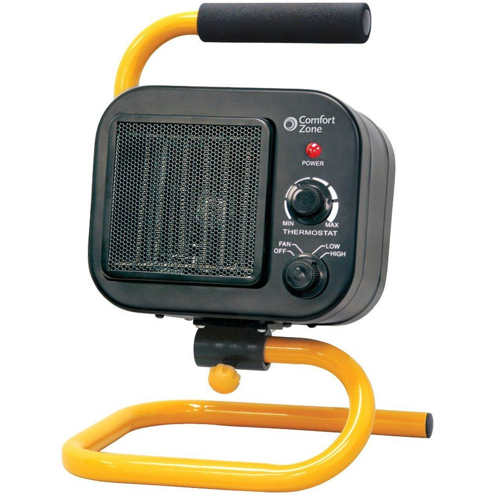 Comfort Zone Shop Heater 2 Heat Settings & Fanonly