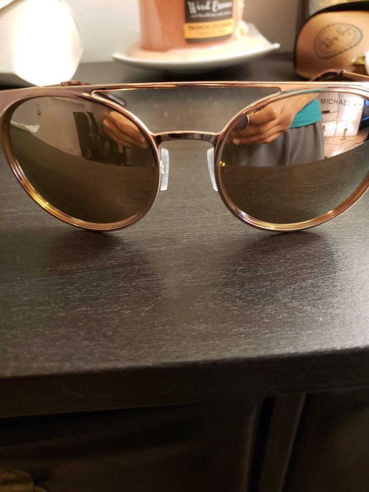 b363cedbefa02 New Michael Kors MK1030 10265A Grayton Sunglasses Liquid Rose Gold Mirror  Lens  fashion  clothing  shoes  accessories  womensaccessories ...