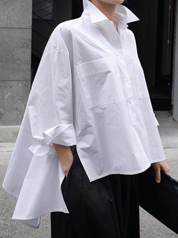 Casual Fashion Cropped Shirt