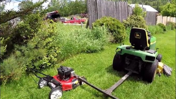 Genius Way To Mow The Lawn In Half The Time Www Maxviral Com