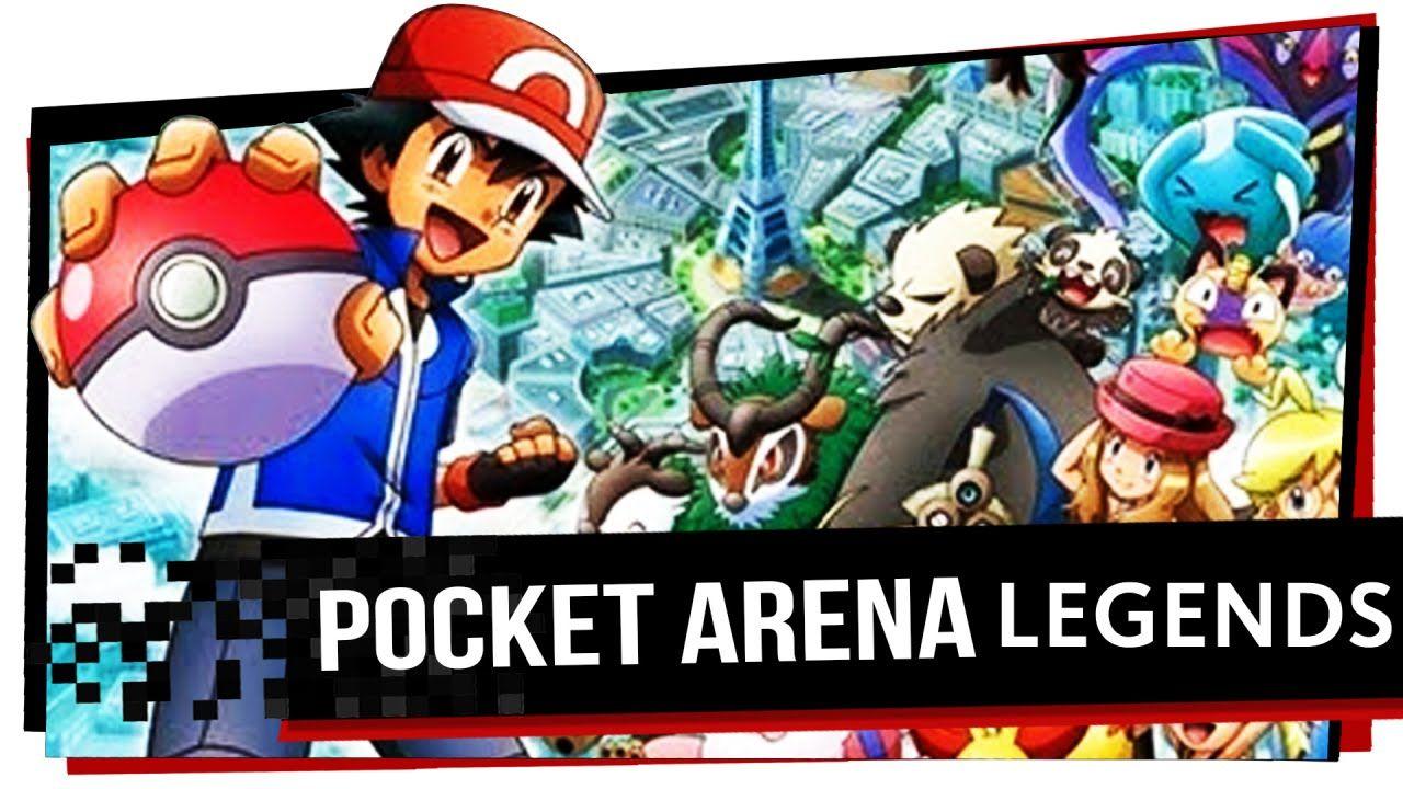 Pocket Arena Legends Pokemon Watcha Playin'? First