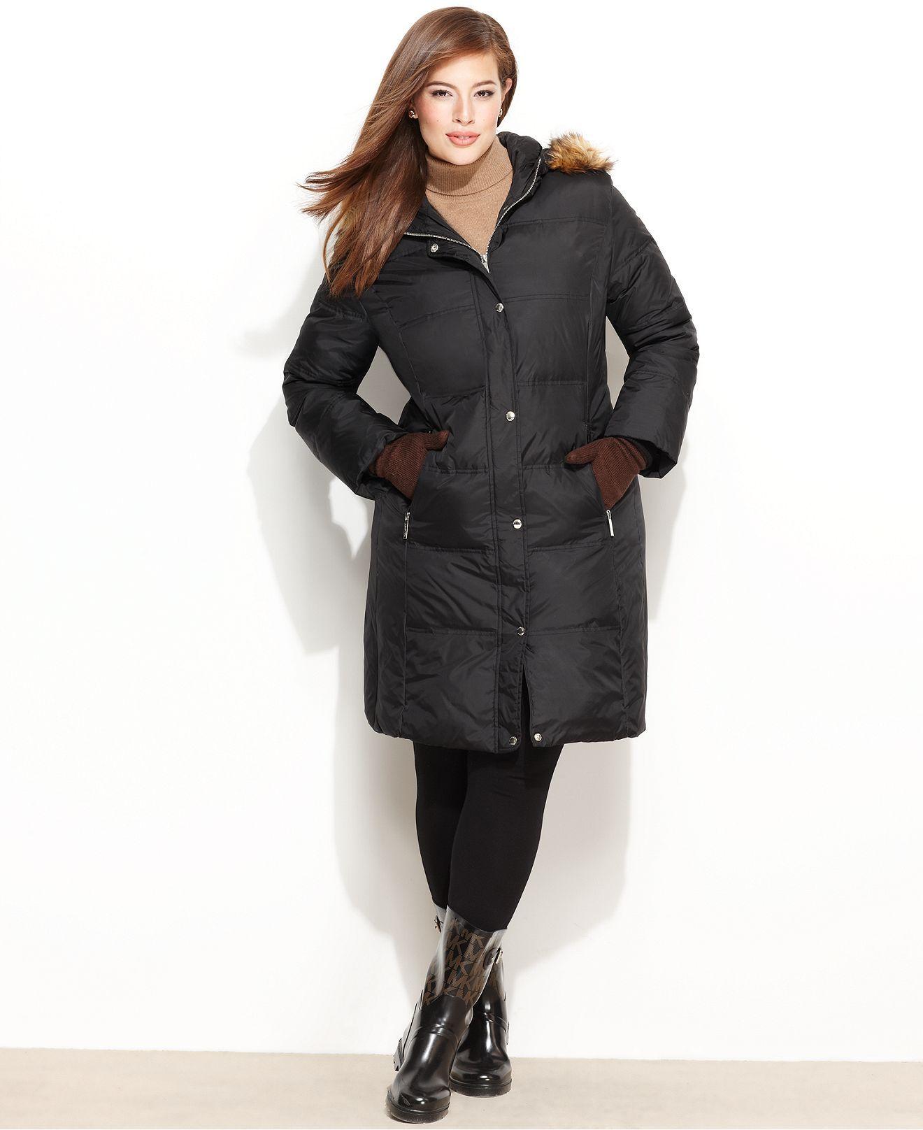 3a1151f5c32 MICHAEL Michael Kors Plus Size Coat
