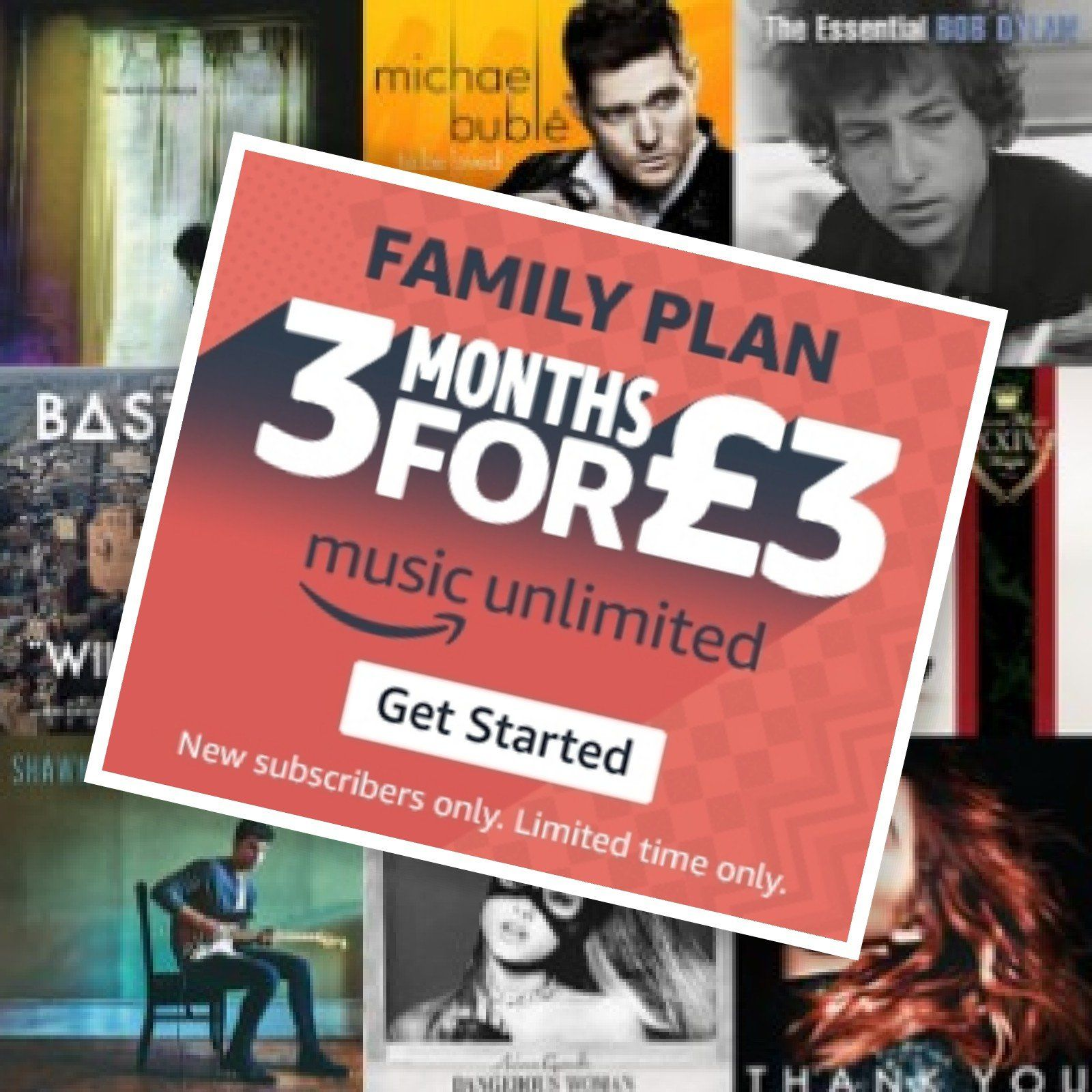 Try The New Amazon Music Unlimited Family Plan With 3 Months For 3